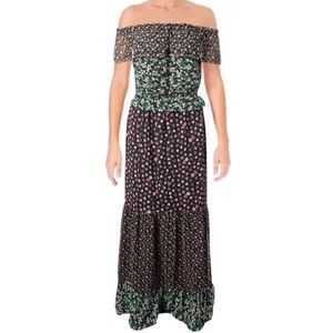 Juicy Couture Ditsy Floral Mix Maxi Dress